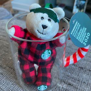 Starbucks Candy Cane Mug And Bearista Bear for Sale in San Jose, CA