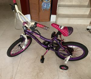 Monster high 18in. Girls bike for Sale in Pembroke Pines, FL
