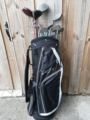 Golf clubs with a new bag. for Sale in St. Petersburg, FL