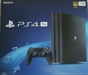 Playstion PS4 Pro 1TB Brand new in box for Sale in Bowie, MD