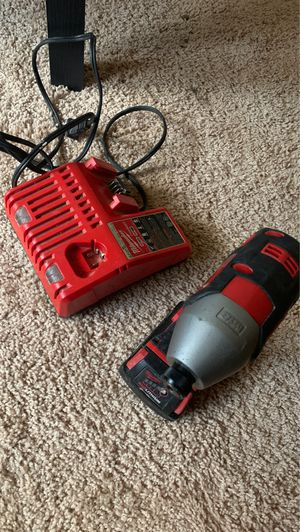 Milwaukee drill and charger for Sale in Hyattsville, MD