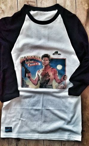 Big Trouble in Little China Baseball Unisex Tee for Sale in Dallas, TX