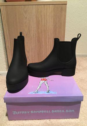 Jeffrey Campbell size 7 boot waterproof for Sale in Edmonds, WA