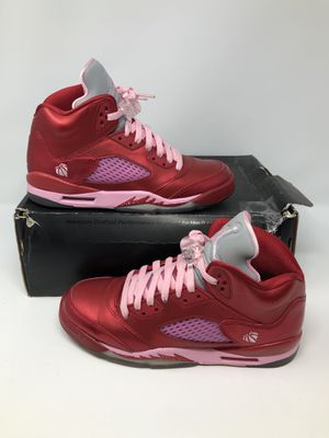 Air Jordan 5 GG 'Valentine's Day' Size 7Y for Sale in Los Angeles, CA