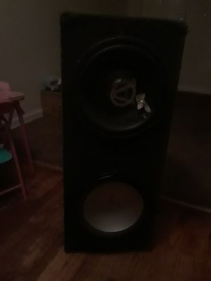 2 speakers box12s for Sale in Washington, DC