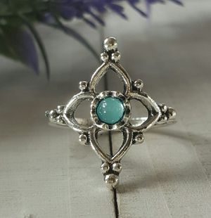 Bohemian Ring with Crystal, Size 7 for Sale in Wichita, KS