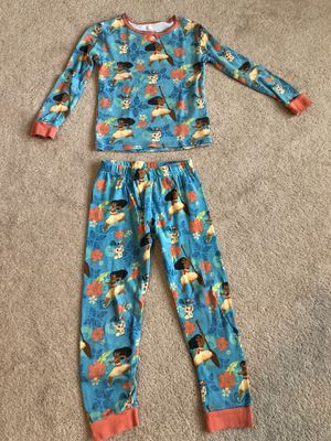 MOANA PAJAMAS (SIZE 7) for Sale in Inverness, IL