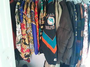 EUC HTF VTG Vintage 90s Baroque Chain Burberry Christian Dior Starter Coogi Girbaud Sean John Pelle Pelle Saxony Collection Jacket Collection for Sale in Birmingham, MI