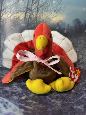 TY Beanie Baby Gobbles the turkey plush toy for Sale in Lakewood, CA
