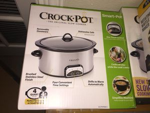 Programable slow cooker crock pot brand new for Sale in Dallas, TX