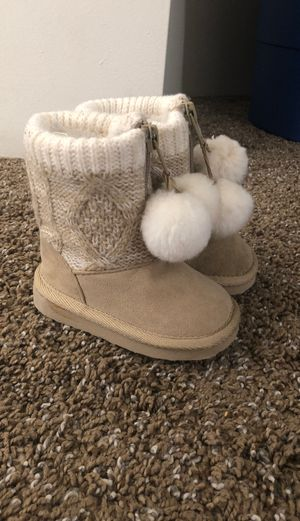 Toddler girl boots for Sale in Bakersfield, CA