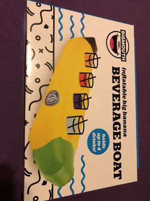 Inflatable Big Banana Beverage Boat *New for Sale in Henderson, NV