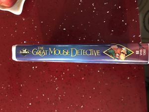 The Great Mouse Detective black diamond Vhs tape Walt Disney Classic for Sale in Fort Lauderdale, FL