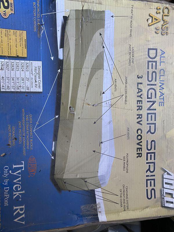 Adco Designer Seris RV cover 34'. NEW