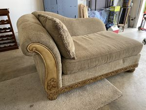Chaise Couch Reversible Cushion (matching chair sold separately; matching couch - 6' long). for Sale in Camas, WA