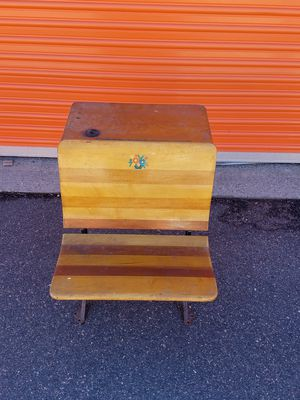 ANTIQUE SCHOOL DESK for Sale in Wheat Ridge, CO