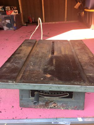 Old school table saw for Sale in Woodbridge, VA