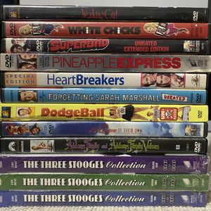 12 Comedy Movie DVD Lot for Sale in The Bronx, NY