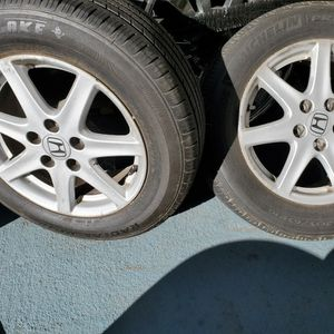 """16""""rims And Tires Good Condition 5lugs $400 for Sale in Cypress, CA"""