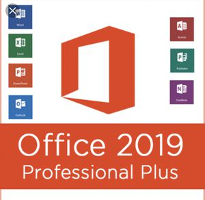 Microsoft office 2019 Pro Plus activation key for Sale in West Palm Beach, FL