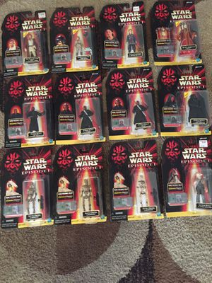Star Wars episode 1 action figures for Sale in Los Angeles, CA