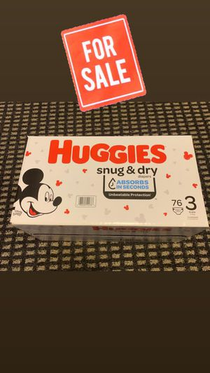 Huggies Snug & Dry ... Size 3 ... 76ct for Sale in Miami, FL