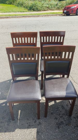 4 dining chairs for Sale in Arlington, VA