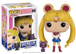 Pop #89 Sailor Moon & Luna *RETIRED for Sale in Manteca, CA