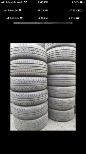 Tires wheels rims mounting balancing new tires and used tires for Sale in Kent, WA