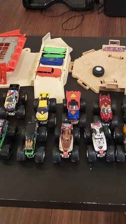 Monster Jam Truck Collection And Jam Track for Sale in Santa Clarita,  CA