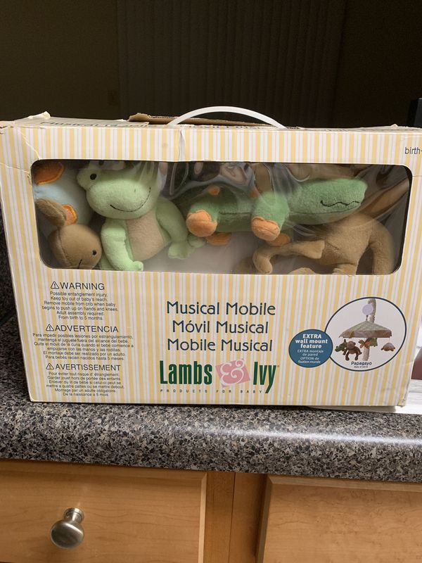 Musical mobile for baby birth 5m open box never using