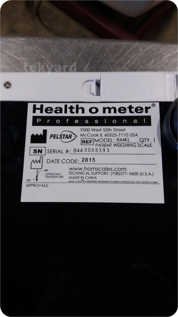 Healthometer Professional Digital Scale 844kl