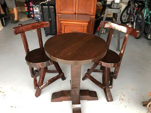 Solid Wood Handcrafted Table (We do not accept Checks) for Sale in Miami, FL
