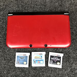 Nintendo 3ds xl w/ games for Sale in Irvine, CA