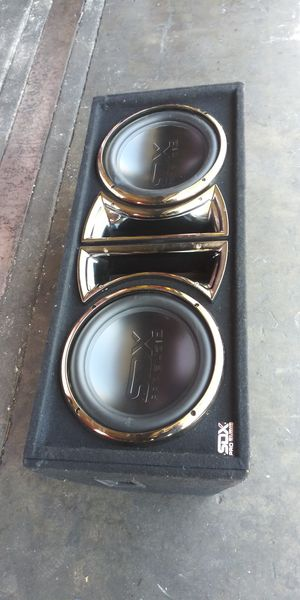 SDX PRO AUDIO SPEAKERS. 2 ×12' for Sale in Montebello, CA