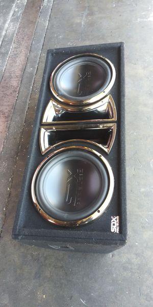 SDX PRO AUDIO SPEAKERS. 2 ×12' for Sale in Montebello, CA