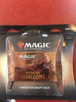 Magic the gAthering modern horizons 3- booster pack packs 10 so 30 booster packs for Sale in Monrovia, CA