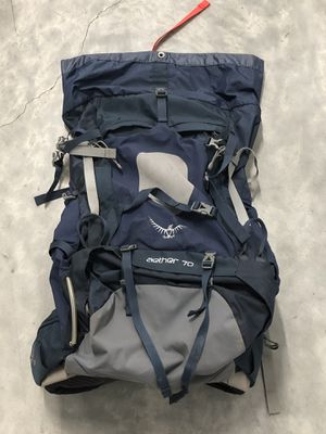 Osprey Aether 70 Hiking Backpack (Retail: $310) for Sale in Long Beach, CA