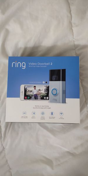 (NEW) Ring Video Doorbell 2 for Sale in Sudley Springs, VA