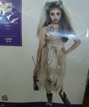 Child's crypt bride costume for Sale in Kent, WA