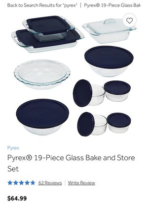 Pyrex set for Sale in Columbus, OH