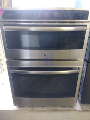 Brand new GE stainless steel wall mount oven with microwave for Sale in Cleveland, OH