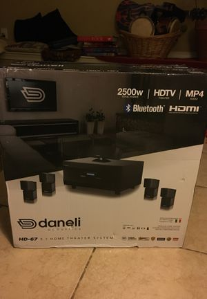 Daneli HD-67 Home Theater System for Sale in Washington, DC