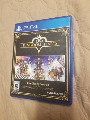 Kingdom Hearts The Story So Far PS4 for Sale in Fresno, CA