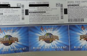 TICKET TO UNIVERSAL AND SEAWORD for Sale in Belle Isle, FL
