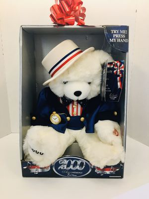 Special Edition Retired Americana 2000 Singing Teddy Bear for Sale in Spring Hill, FL
