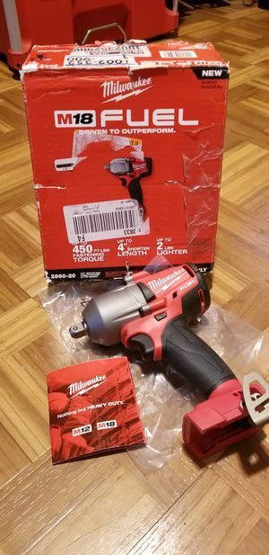 """Milwaukee 1/2"""" Impact Wrench Brushless Fuel M18 for Sale in Norwalk, CA"""