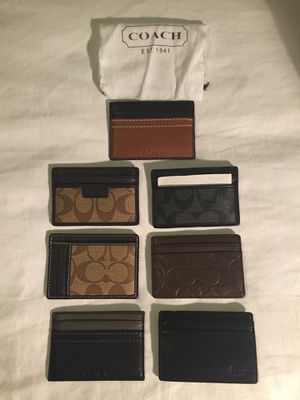 New coach wallet with tags $30 each! for Sale in Duluth, GA