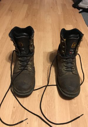 CAT steel toed work boots for Sale in Snohomish, WA