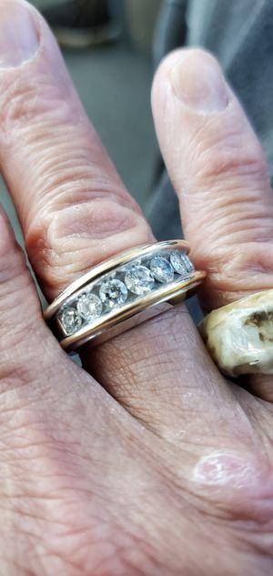 Zales 1.5 CT Diamond Ring,10k White Gold for Sale in San Antonio, TX